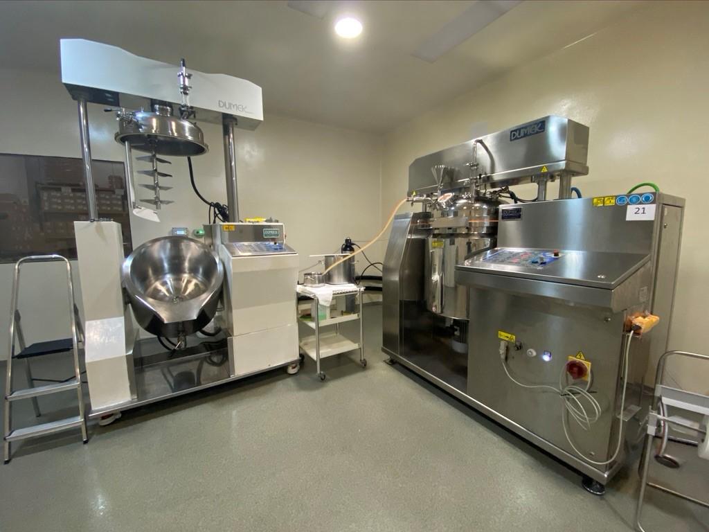 reactor fabricación crema